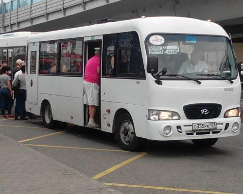 автобус с Адлера до границы
