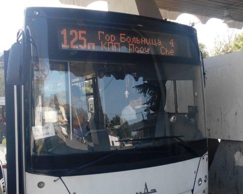 автобус от жд вокзала Адлера до границы с Абхазией Псоу