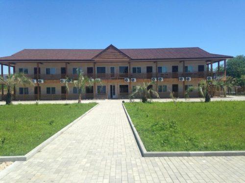 Аль Море гостиница в Пицунде на берегу моря