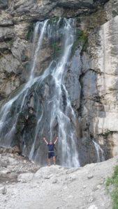 Дорога на Гегский водопад