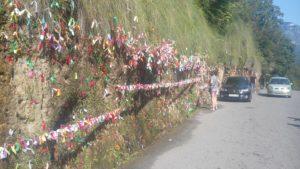 красивые места по дороге на озеро Рица