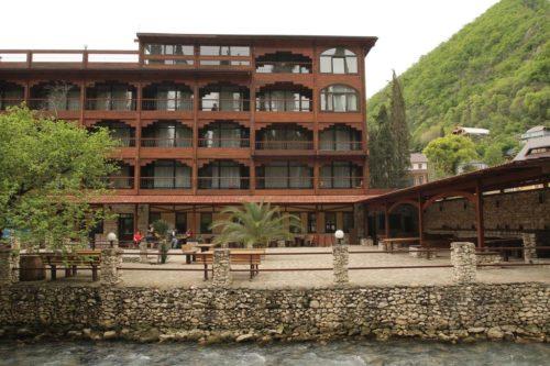 Отель Грифон в Новом Афоне