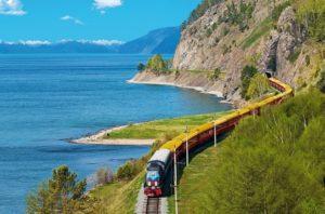 на поезде в абхазию