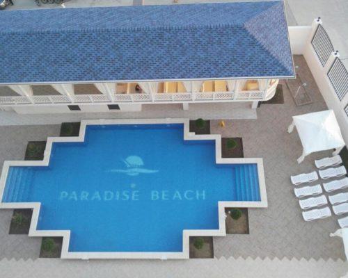 бассейн отеля Парадайз Бич