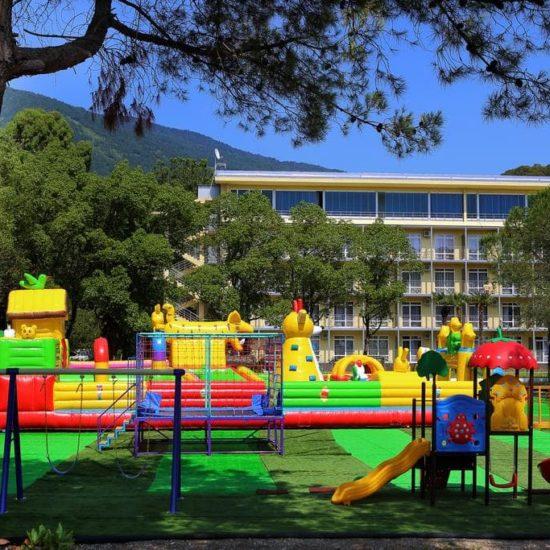 детская площадка WELLNESS ParkHotel GAGRA