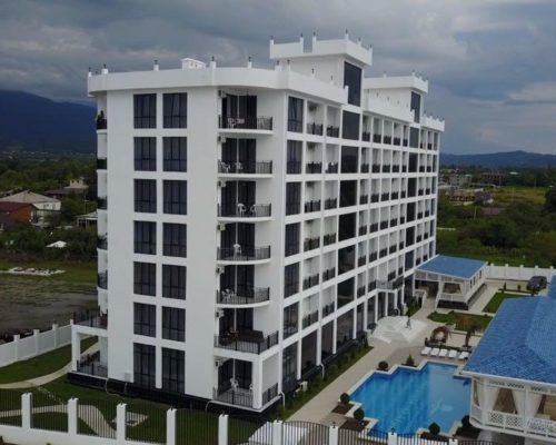 отель Парадайз Бич п.Алахадзы Пицунда, Абхазия