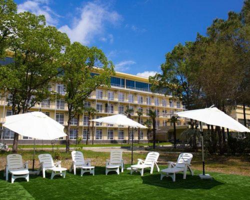 отель велнес парк отель гагра