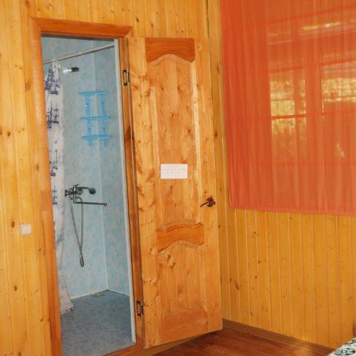 душ и туалет в номере