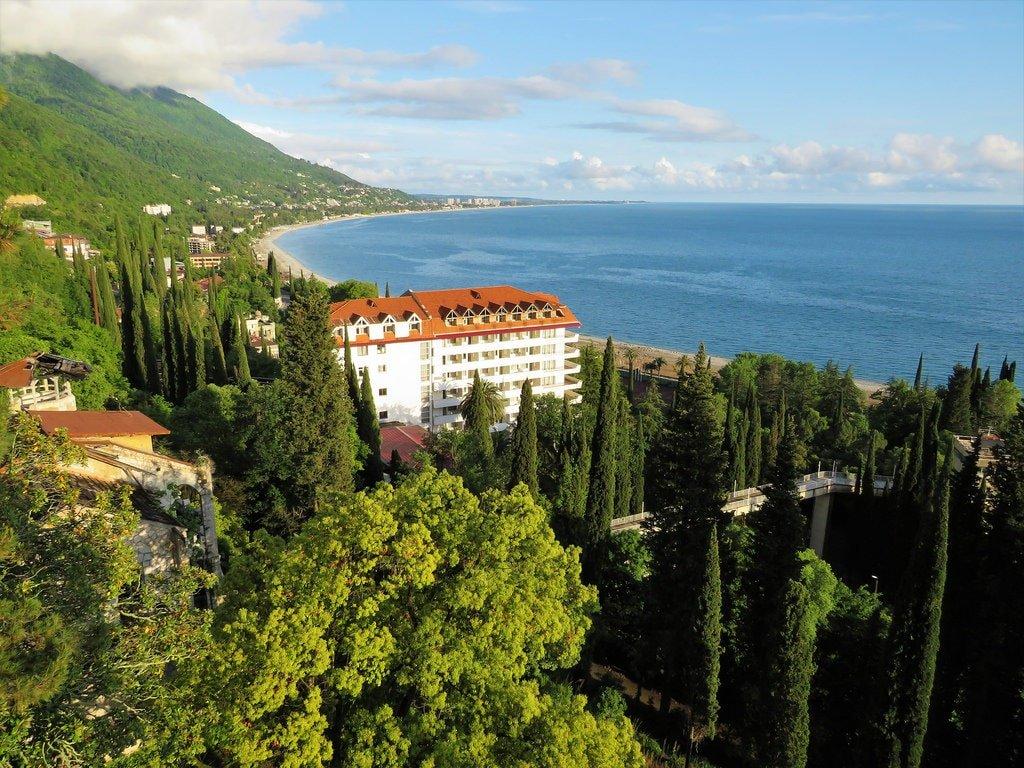 Абхазия вид на Гагру