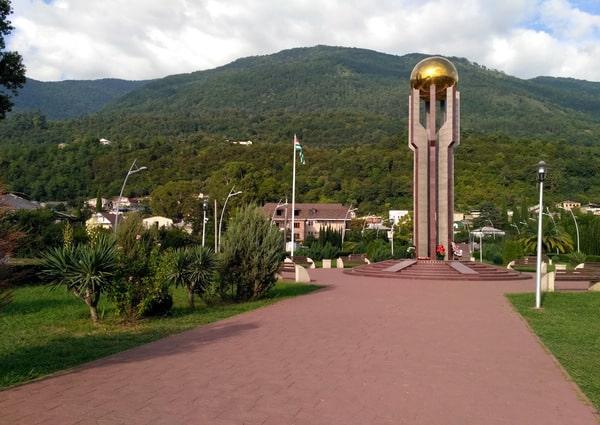 Мемориал независимости Гагра
