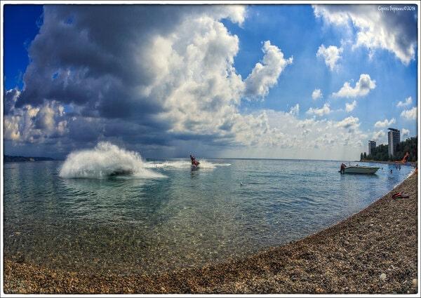 море в Пицунде