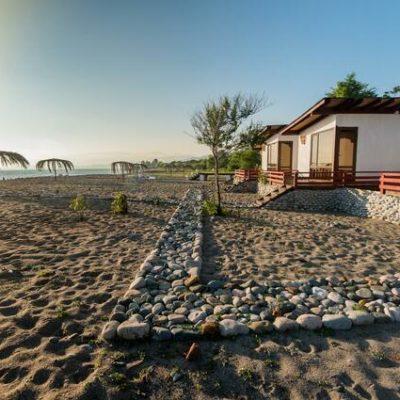 Aqua Resort отель на берегу моря Сухум п.Мачара