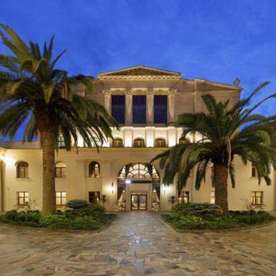отель в Гаграх на берегу моря Амра парк отель и спа