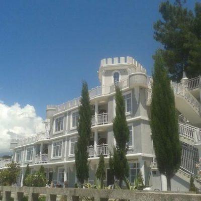 отель Мраморный замок Пицунда поселок Агарки