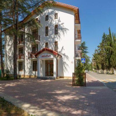 Отель Киараз старт в Пицунде