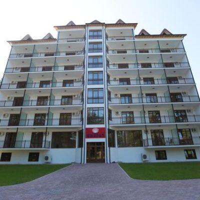 Киараз Арена отель в Пицунде Абхазия